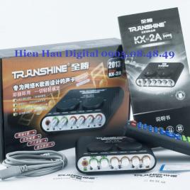 Sound Card Thu Âm TranShine KX-2A chính hãng