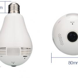 Bóng đèn camera 360 wifi cao cấp