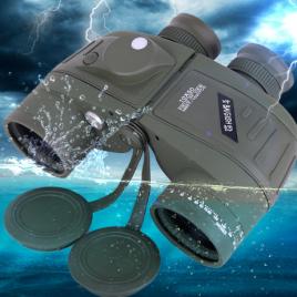 Ống nhòm Baigish quân sự cao cấp 10×50, có li giác, chống nước