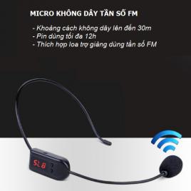 Micro không dây tần sóng FM