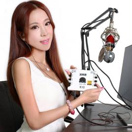 Soundcard thu âm XOX K10 giá rẻ, cực chất