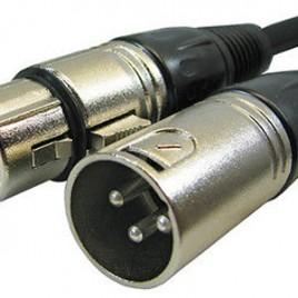 Dây cáp nguồn micro 48V XLR-XLR 3m