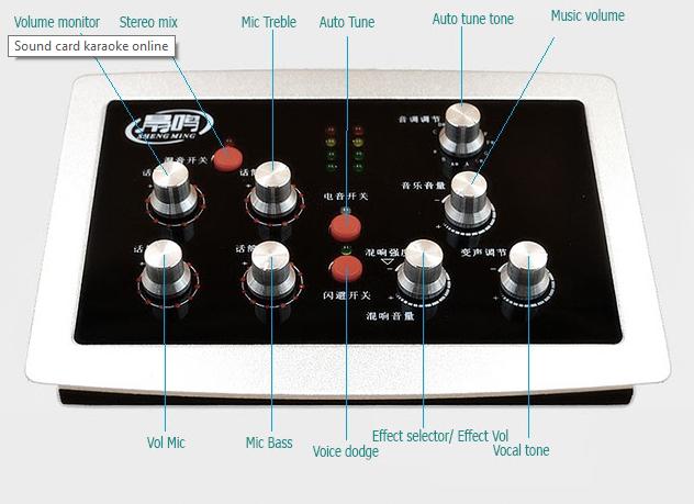 sound card HF5000pro