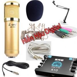 Combo micro Ami BM900, XOX K10 và phụ kiện