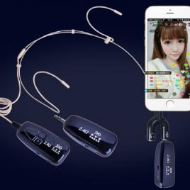 Micro không dây G18B cho điện thoại, loa trợ giảng