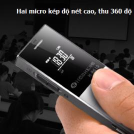 Máy ghi âm HBNKH cao cấp, hỗ trợ thẻ nhớ ngoài